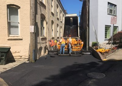 Alley Repaving
